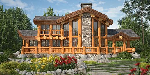 Любителям деревянных домов