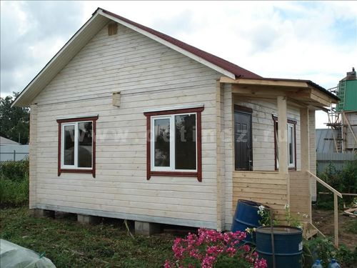 Строительство недорогих дачных домиков под ключ