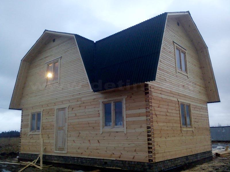 Дом 355 из клееного бруса