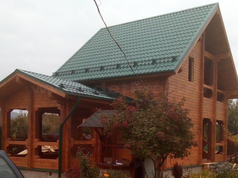 Дом 518 из бруса