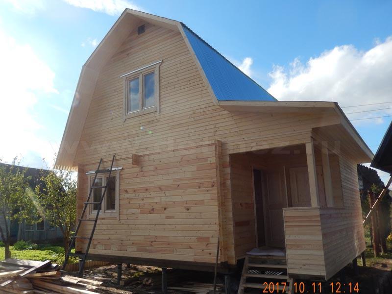 Дом из бруса 1250