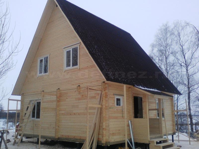 Дом из бруса 1513