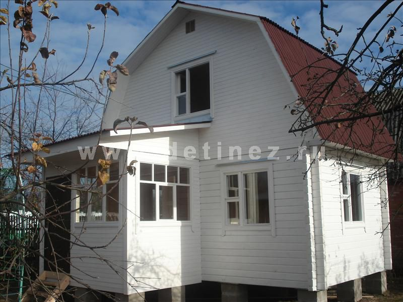 Дома из клееного бруса 4х5м