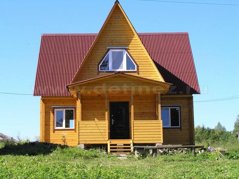Дом из бруса 56Д
