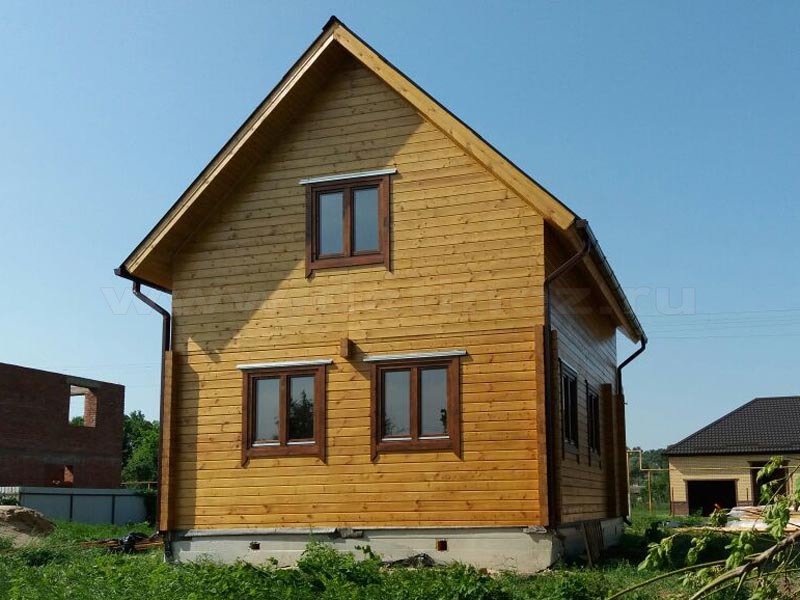 Дом 369 из клееного бруса
