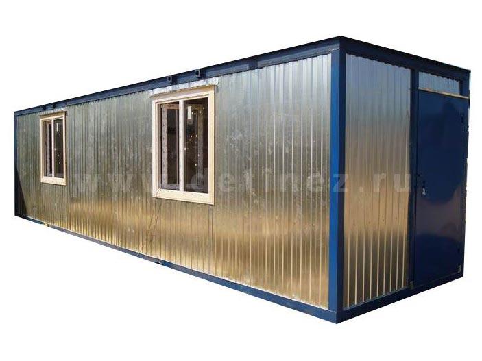 Блок-контейнер строительный 8х2,5м