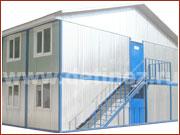 Модульные здания из металлических блок-контейнеров