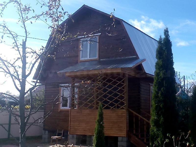 Дом из бруса 1957