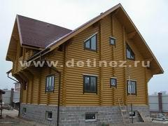 Дома из оцилиндрованного бревна 11х11м