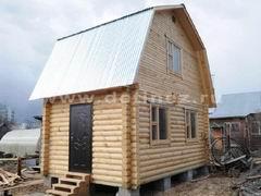 Дома из бревна 4х6м