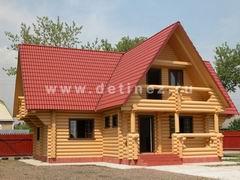 Бревенчатые дома 6х12м