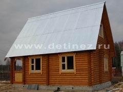 Бревенчатые дома 6х8м