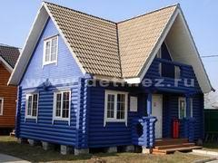 Бревенчатые дома 6х9м