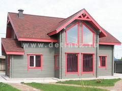 Дома из профилированного бруса 10х12м