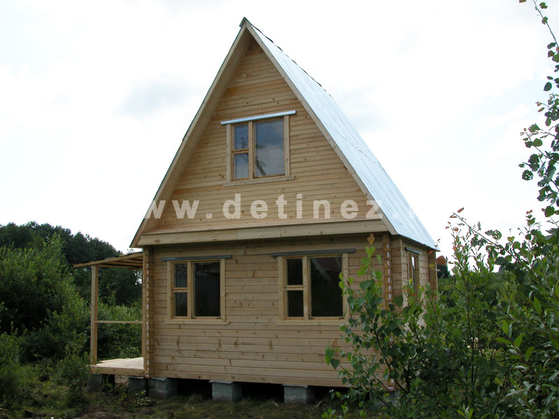 Дома из профилированного бруса 4х5м