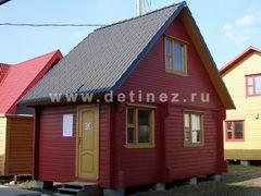 Брусовые дома 4х6м