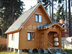 Брусовые дома 5х6м