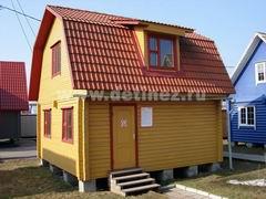 Дома из бруса 6х6м