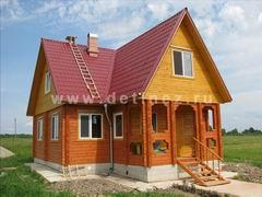 Дома из клееного бруса 6х9м