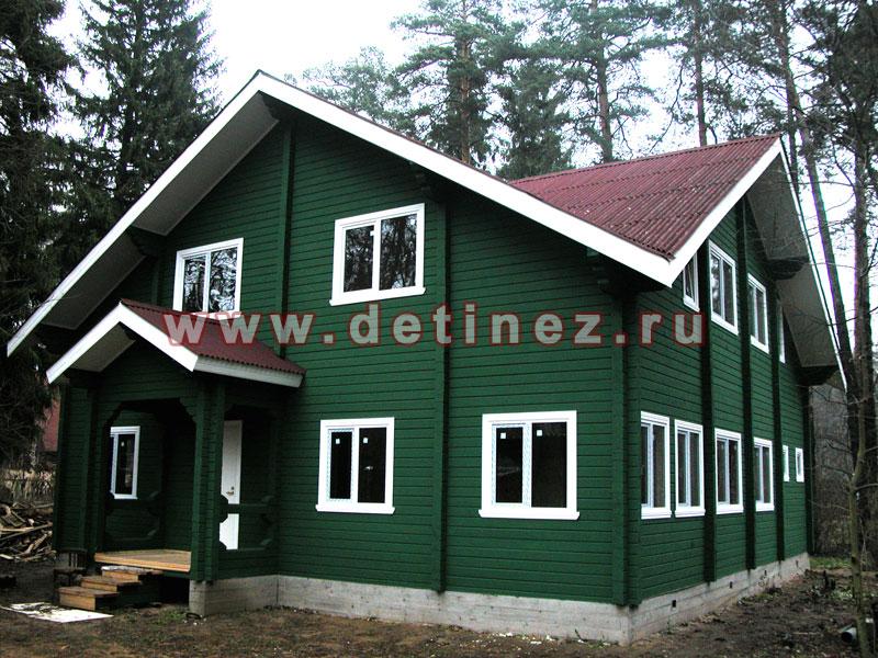 Каркасные дома 11х11м