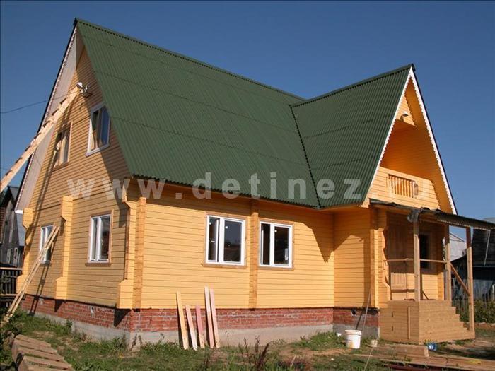 Дом из бруса 1100