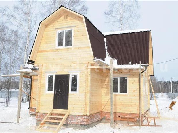 Дом 354 из бруса