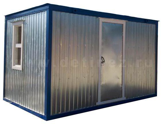 Металлический блок контейнер 4х2,5м