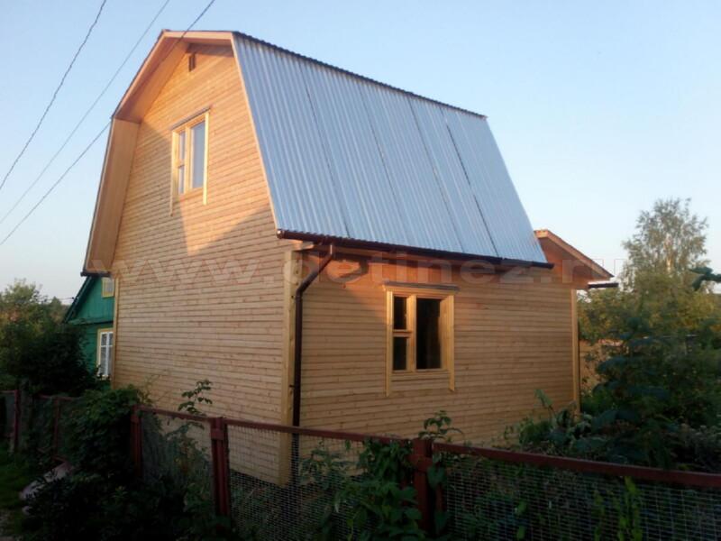 Каркасный дом 2057