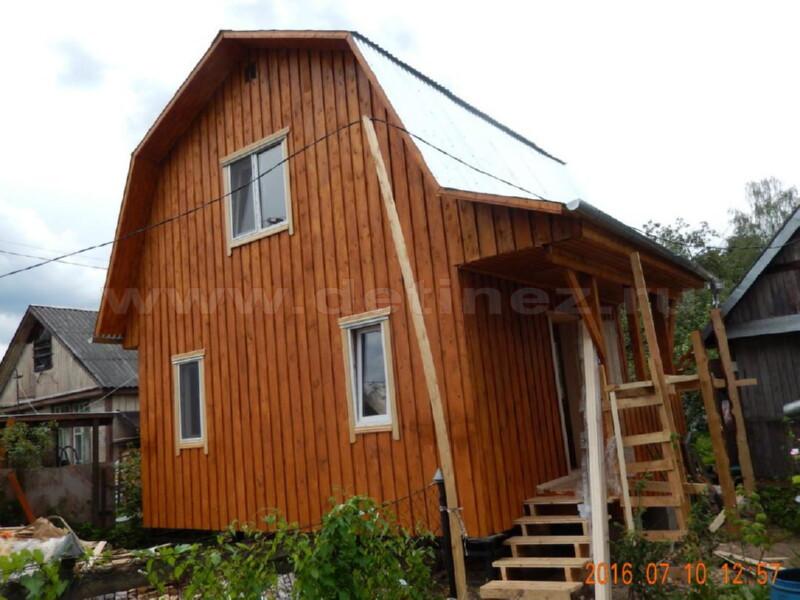 Каркасный дом 2071