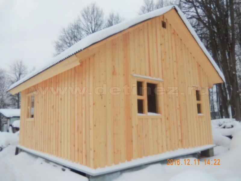 Каркасный дом 2115