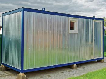 Мобильная баня - блок-контейнер 6х2,5м