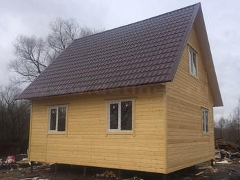 Каркасный дом 2070