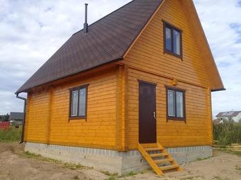 Дом из бруса 1951 6х7м