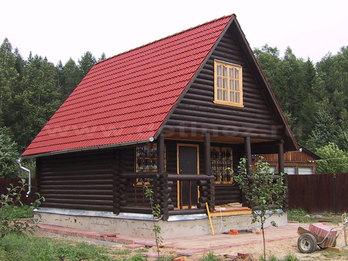 Дом из бревна 1546