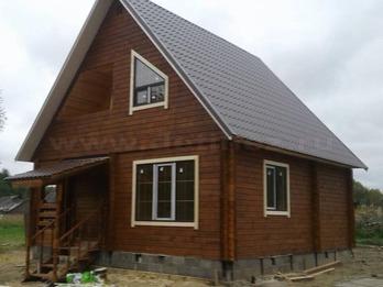 Дом из бруса 1267