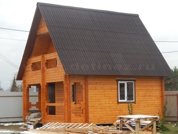 Дом из бруса 1903