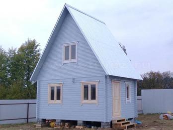 Дом из профилированного бруса 352 4х5м