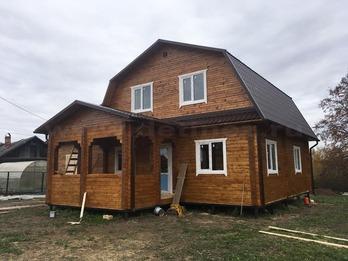Дом из бруса 2214