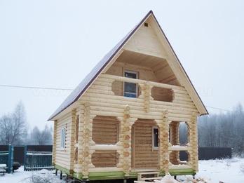 Дачный дом 1191 из бревна