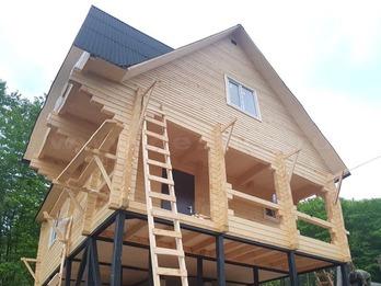 Дом из бруса 2126