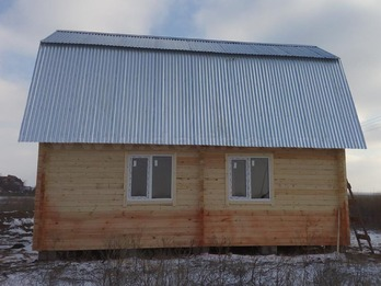 Дом из бруса 2085