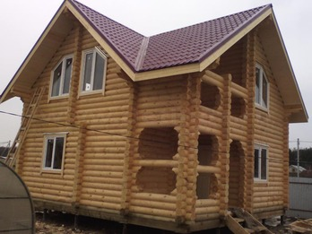 Дом из бревна 2104