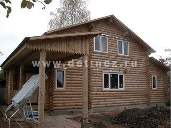 Дом 425 из бревна