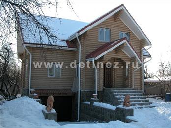 Дом 1078 из бревна