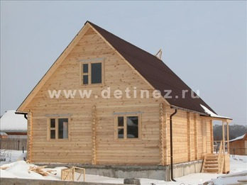 Дом 1114 из бруса