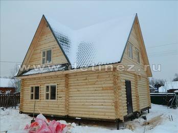 Дом 1184 из бревна