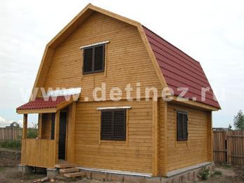 Дом из клееного бруса 137 6х6м