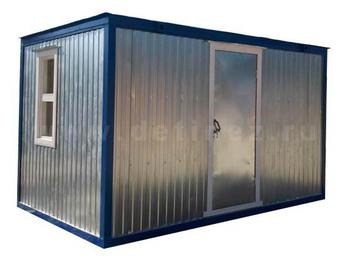 Блок-контейнер металлический 4х2,5м