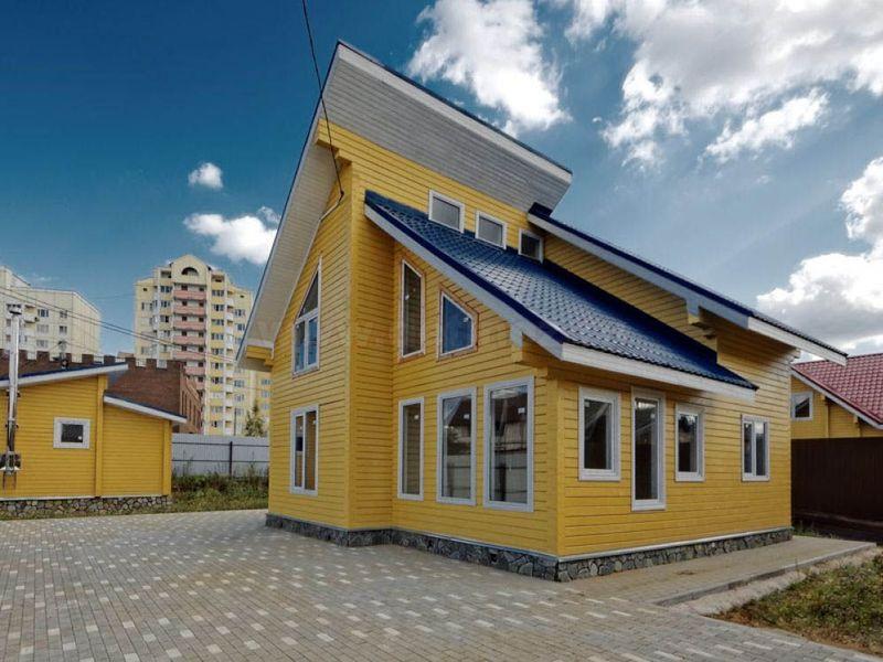 Коттедж №134А 115 м² с участком 5.6 сот.
