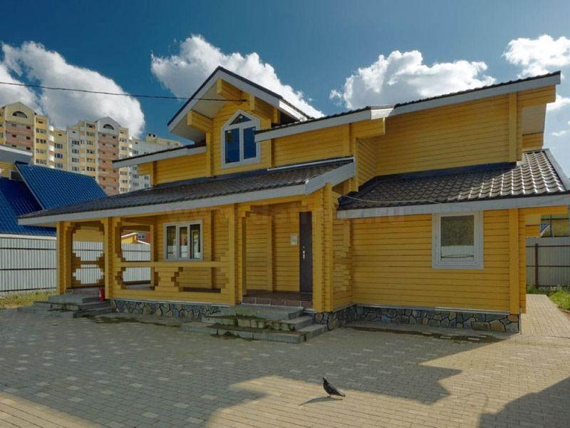 Коттедж №135А 156 м² с участком 5.4 сот.